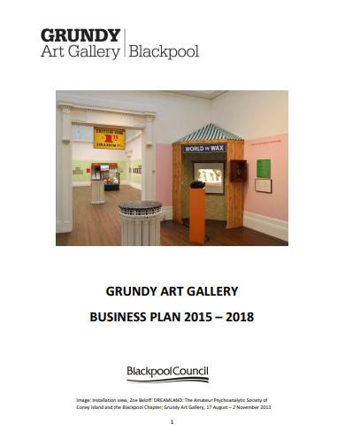 grundy art gallery business plan