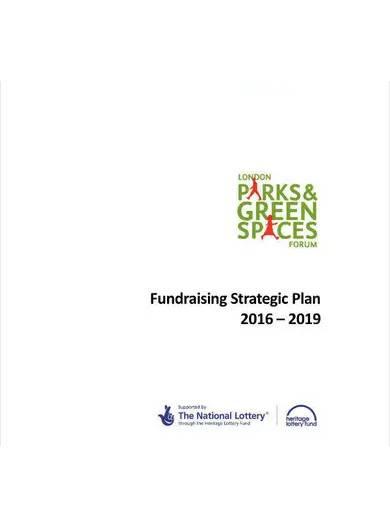 nonprofit fundraising strategic plan