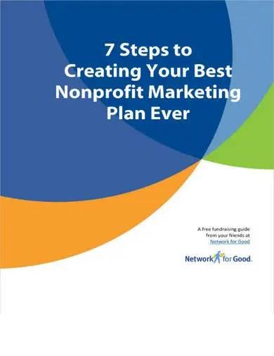 professional nonprofit marketing plan