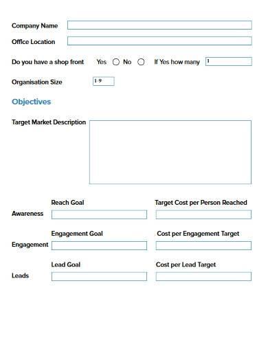 sample marketing strategy audit