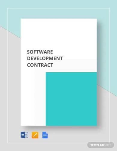 software development contract template