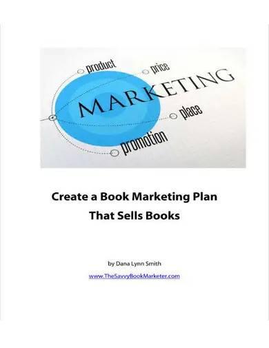 standard book marketing plan template