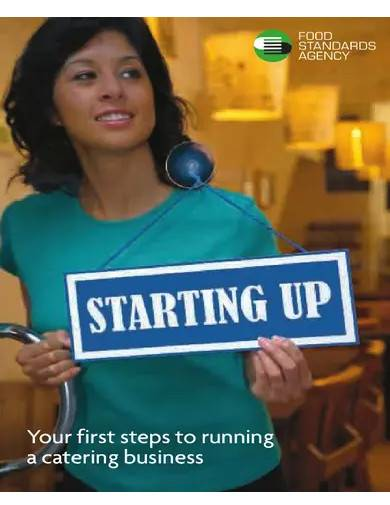 startup catering business plan