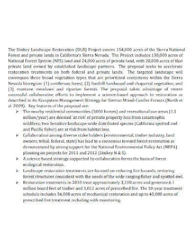 collaboration program proposal
