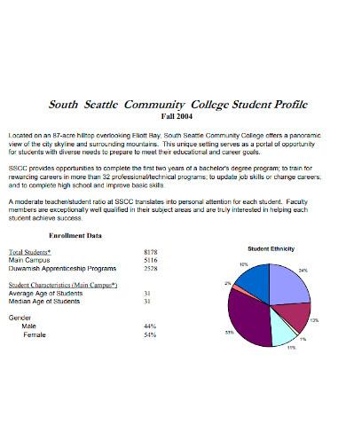 college student profile
