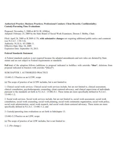 custody parenting time evaluation report