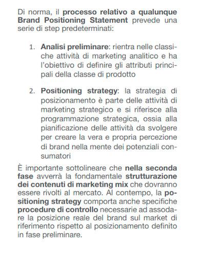 editable brand positioning statement