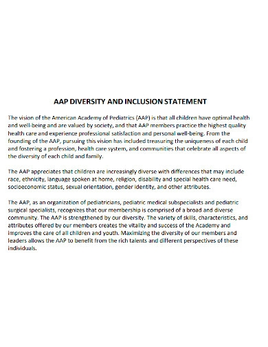 editable diversity and inclusion statement