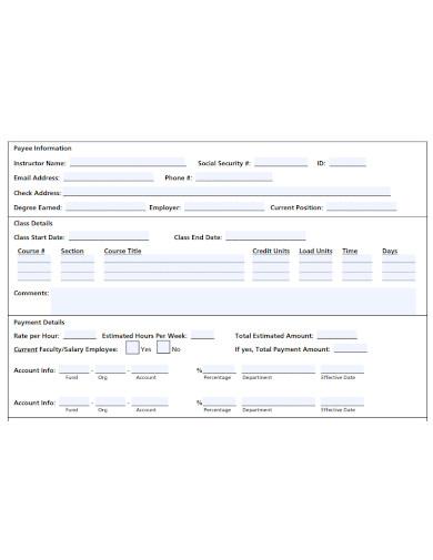 editable teacher agreement form