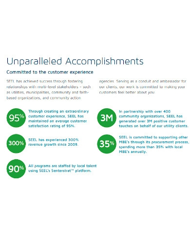 employee accomplishment summary report