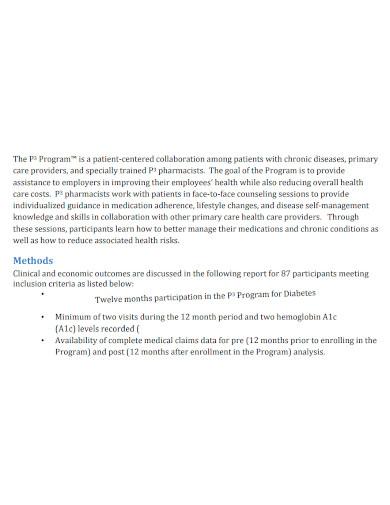 employee medical summary report