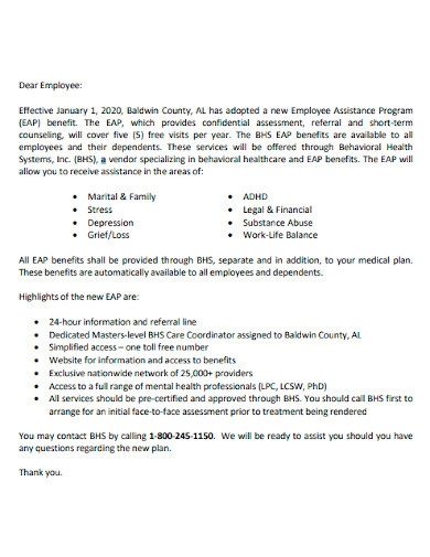 employee new hire announcement letter