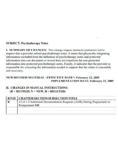 medicare psychotherapy progress note