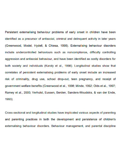 printable child observation report