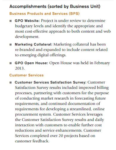 printable employee accomplishment report