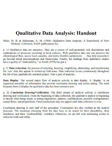 printable qualitative data analysis
