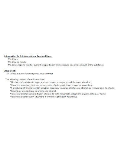 printable substance abuse discharge plan