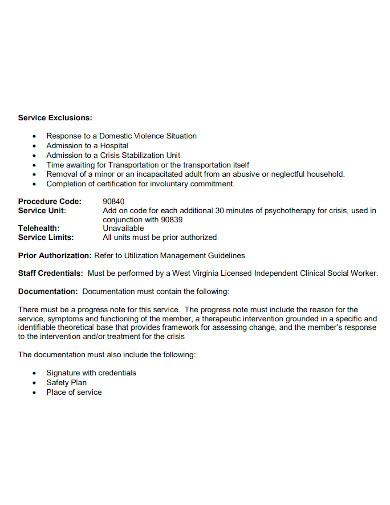 professional social worker progress notes
