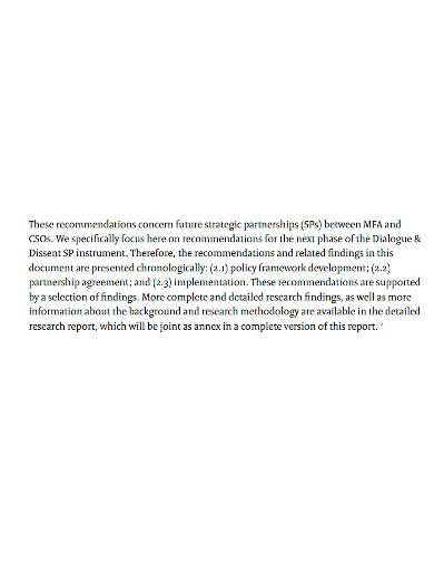 professional strategic partnership proposal