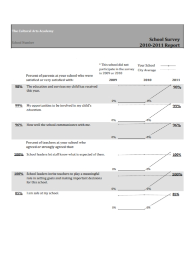 school cultural arts survey report