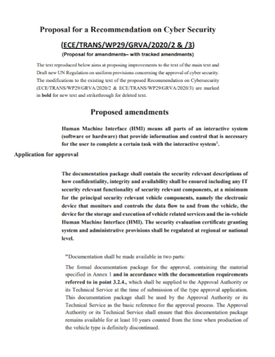 cyber security amendments proposal