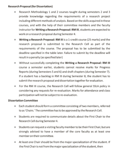 dissertation committee research proposal
