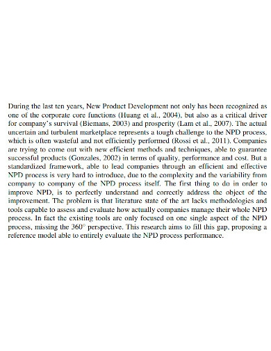 editable new product development proposal