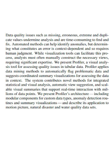 integrated statistical data analysis