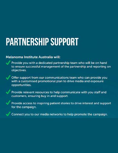 marketing partnership proposal format