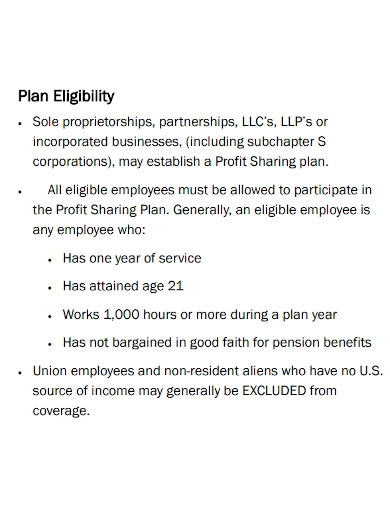 pension services profit sharing plan