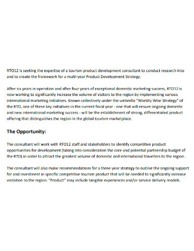 product development research proposal