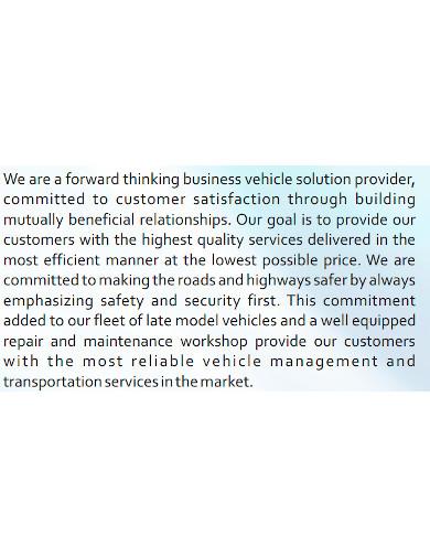 basic automotive company profile