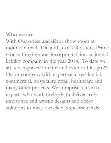 basic interior company profile