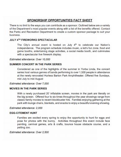 community sponsorship fact sheet