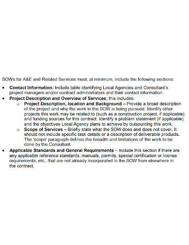 editable contract scope of work