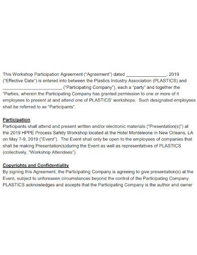 editable workshop services agreement