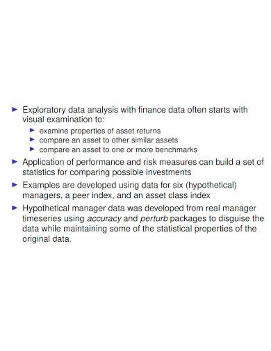 exploratory finance data analysis