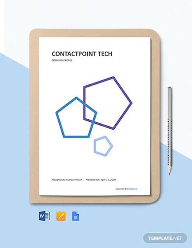 it company landscape profile sample