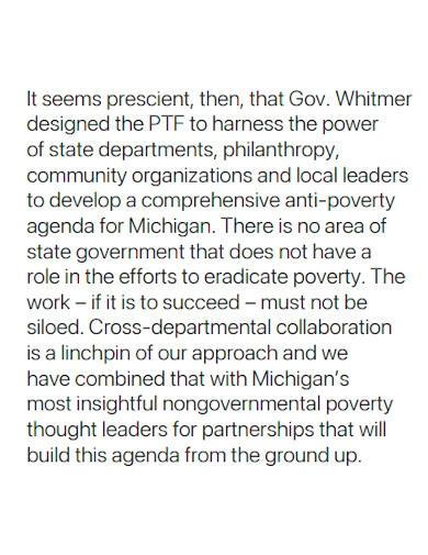poverty task force report