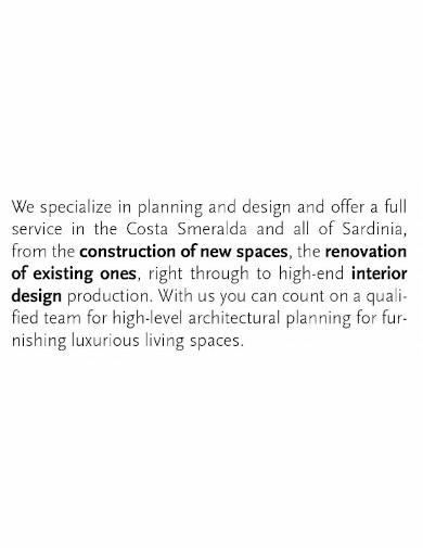 printable interior company profile