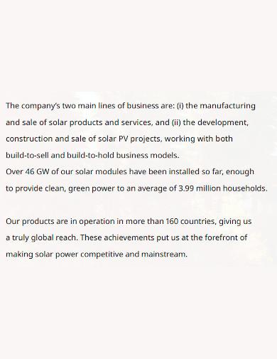 printable manufacturing company profile