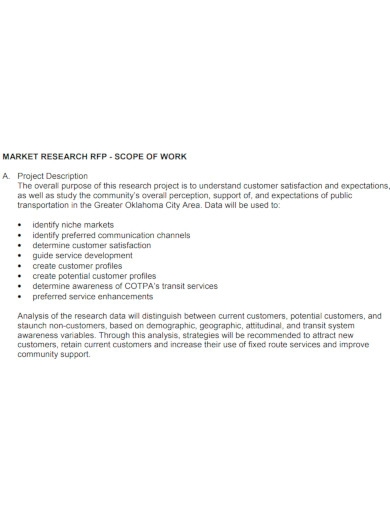 printable market research scope of work