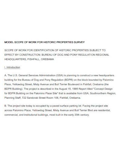 printable renovation scope of work