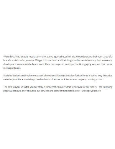 professional marketing company profile