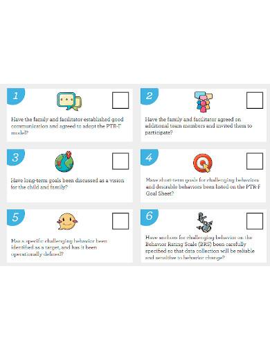 professional self evaluation checklist