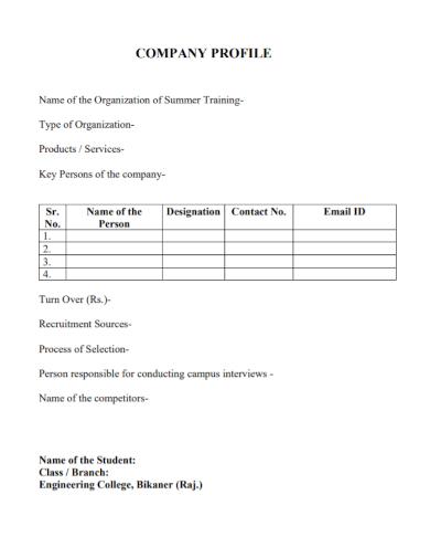 recruitment sources company profile