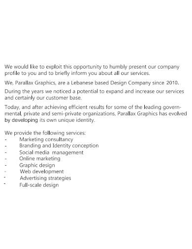 startegic boutique company profile