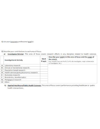 strategic faculty self assessment