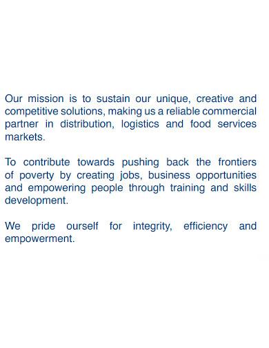 strategic food company profile