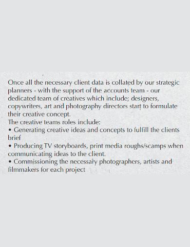 strategic marketing company profile